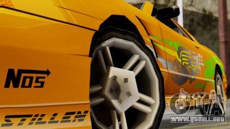 Elegy Supra PJ para la visión correcta GTA San Andreas