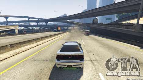 GTA 5 Trampa mortal en la carretera sexta captura de pantalla