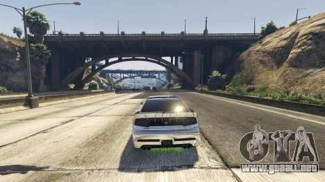 GTA 5 Trampa mortal en la carretera segunda captura de pantalla