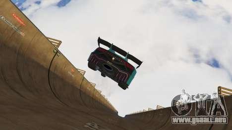 GTA 5 Empinada rampa sexta captura de pantalla