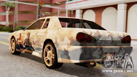 Elegy Contract Wars Vinyl para GTA San Andreas left