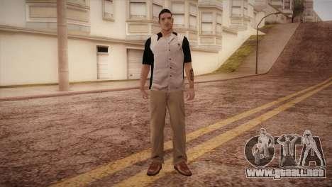 Bowling Player para GTA San Andreas segunda pantalla