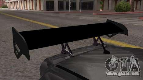 Honda Fit 2009 Faketaxi para la visión correcta GTA San Andreas