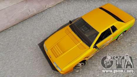 Elegy Supra PJ para GTA San Andreas vista hacia atrás