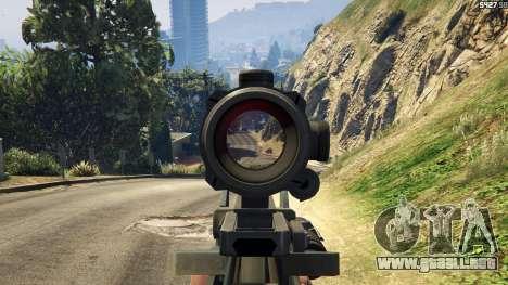 Battlefield 4 Famas para GTA 5