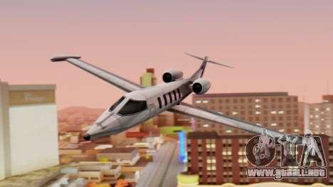 Shamal from GTA Vice City v1.0 para GTA San Andreas