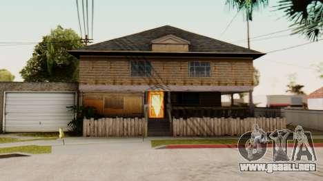 New Interior for CJs House para GTA San Andreas tercera pantalla