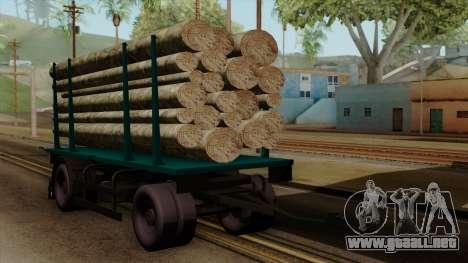 GTA 5 Fieldmaster Wood Trailer para GTA San Andreas
