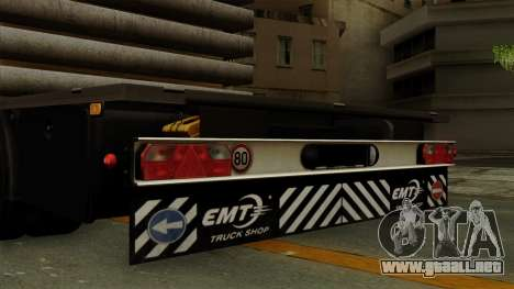 Flatbed3 Grey para la visión correcta GTA San Andreas