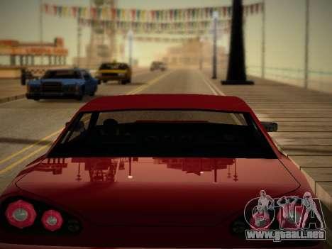 Iceh ENB para GTA San Andreas sucesivamente de pantalla