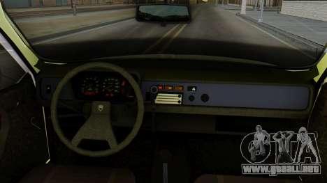 Dacia 1310 Militia para GTA San Andreas vista posterior izquierda