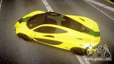 McLaren P1 2014 [EPM] Harrods GTR para GTA 4 visión correcta