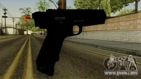 AP Pistol para GTA San Andreas segunda pantalla