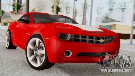 NFS Carbon Chevrolet Camaro para GTA San Andreas