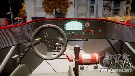 Radical SR8 RX 2011 [16] para GTA 4 vista hacia atrás