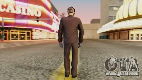 [PayDay2] Wolf para GTA San Andreas tercera pantalla