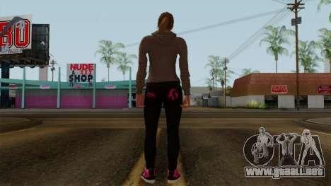 GTA 5 Online Female02 para GTA San Andreas tercera pantalla