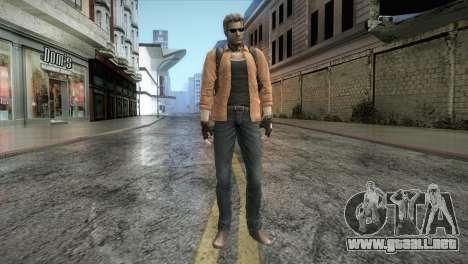 New Jhon Albert Wesker from Resident Evil para GTA San Andreas segunda pantalla