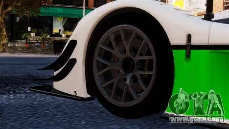 Radical SR8 RX 2011 para GTA 4 visión correcta
