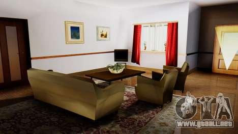 New Interior for CJs House para GTA San Andreas sucesivamente de pantalla