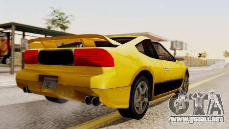 Sportcar2 SA Style para GTA San Andreas left