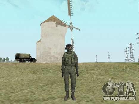 Pak combatientes de las tropas especiales del GR para GTA San Andreas sexta pantalla