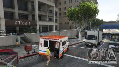 GTA 5 La misión de la ambulancia v. 1.3 cuarto captura de pantalla