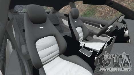 Rueda de GTA 5 Mercedes-Benz C63 AMG 2012