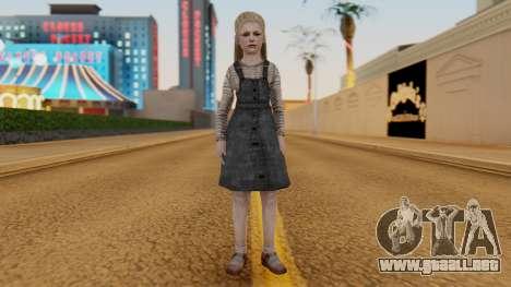 [SH2] Laura Child para GTA San Andreas segunda pantalla