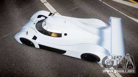 Toyota GT-One TS020 blank spoiler para GTA 4 visión correcta