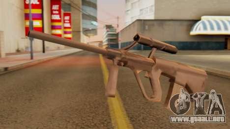 Steyr AUG from GTA VC Beta para GTA San Andreas