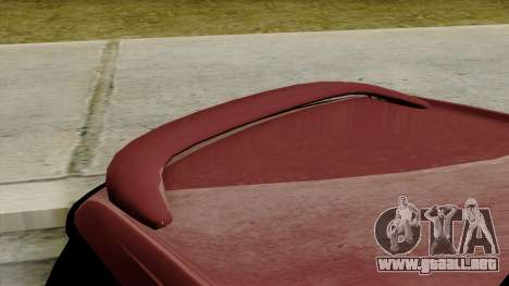 Mini Cooper Batik PaintJob para GTA San Andreas vista hacia atrás