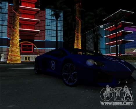 ENB Pizx para GTA San Andreas sucesivamente de pantalla