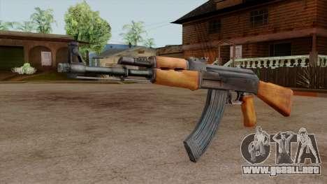 Original HD AK-47 para GTA San Andreas segunda pantalla