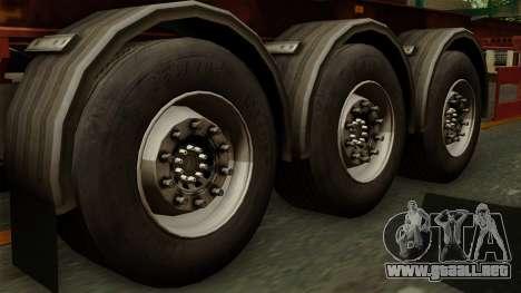 Trailer Cargos ETS2 New v1 para GTA San Andreas vista posterior izquierda