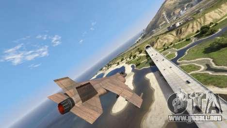 GTA 5 De Madera Hydra tercera captura de pantalla