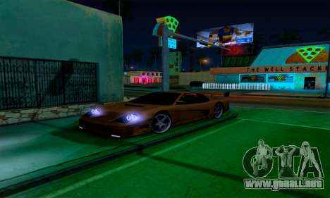 Realistic ENB for Medium PC para GTA San Andreas segunda pantalla