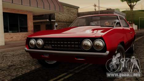 GTA 5 Declasse Vigero IVF para GTA San Andreas left