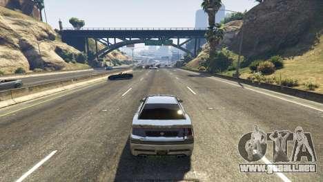 GTA 5 Trampa mortal en la carretera tercera captura de pantalla