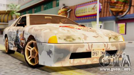 Elegy Contract Wars Vinyl para GTA San Andreas