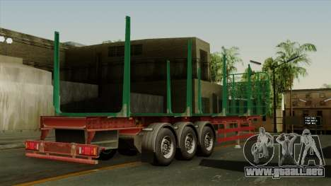 Trailer Cargos ETS2 New v1 para GTA San Andreas left
