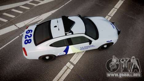 Dodge Charger NOOSE [ELS] para GTA 4 visión correcta