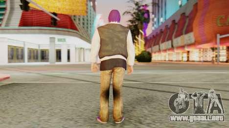 [GTA5] Ballas Member para GTA San Andreas tercera pantalla