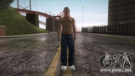 Beach Bum Wmylg para GTA San Andreas segunda pantalla