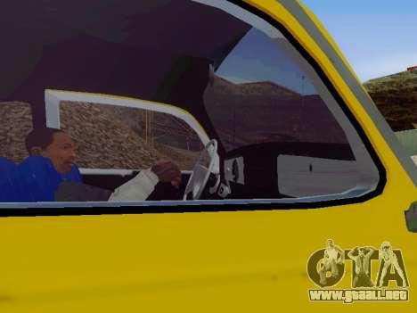 Volkswagen Escarabajo 1975 Jeans Edición Persona para el motor de GTA San Andreas
