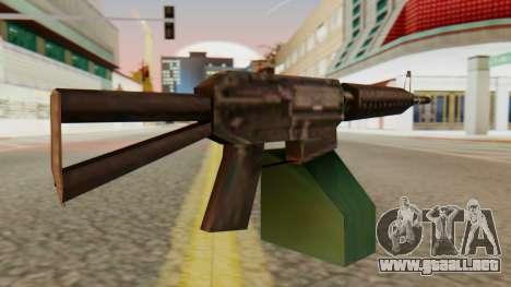 Ares Shrike SA Style para GTA San Andreas segunda pantalla