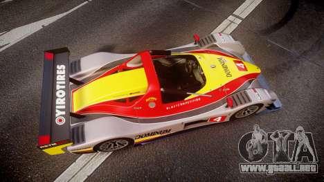Radical SR8 RX 2011 [4] para GTA 4 visión correcta