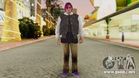 [GTA5] Ballas Member para GTA San Andreas segunda pantalla