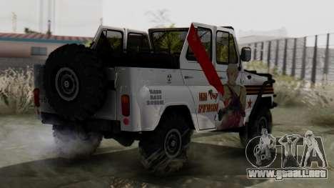 УАЗ 469 Ivan Braginsky para GTA San Andreas left