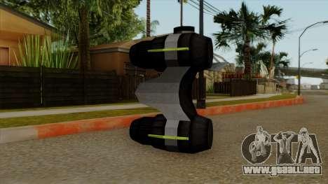 Original HD NV Goggles para GTA San Andreas segunda pantalla